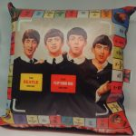 Beatles USA Flip your wig del 1964 - 40cm.x40cm. e 50cm.x50cm. con retro jeans.