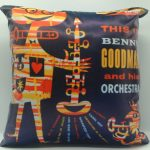 "Goodman Benny ""This is Benny Goodman and his orchestra"" del 1955 - RCA RECORDS LPT 3056 - 40cm.x40cm. con retro taffetà sintetico"