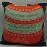 "Winterhalter Hugo ""Christmas magic"" del 1953 - RCA VICTOR LPM 3132 - 40cm.x40cm. con retro jeans."