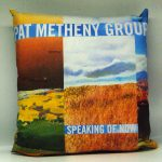 "Metheny Pat Group - ""Speaking of now"" del 2002 - WARNER BROS RECORDS 093624802525"" - 40cm.x40cm.con retro taffetà sintetico"